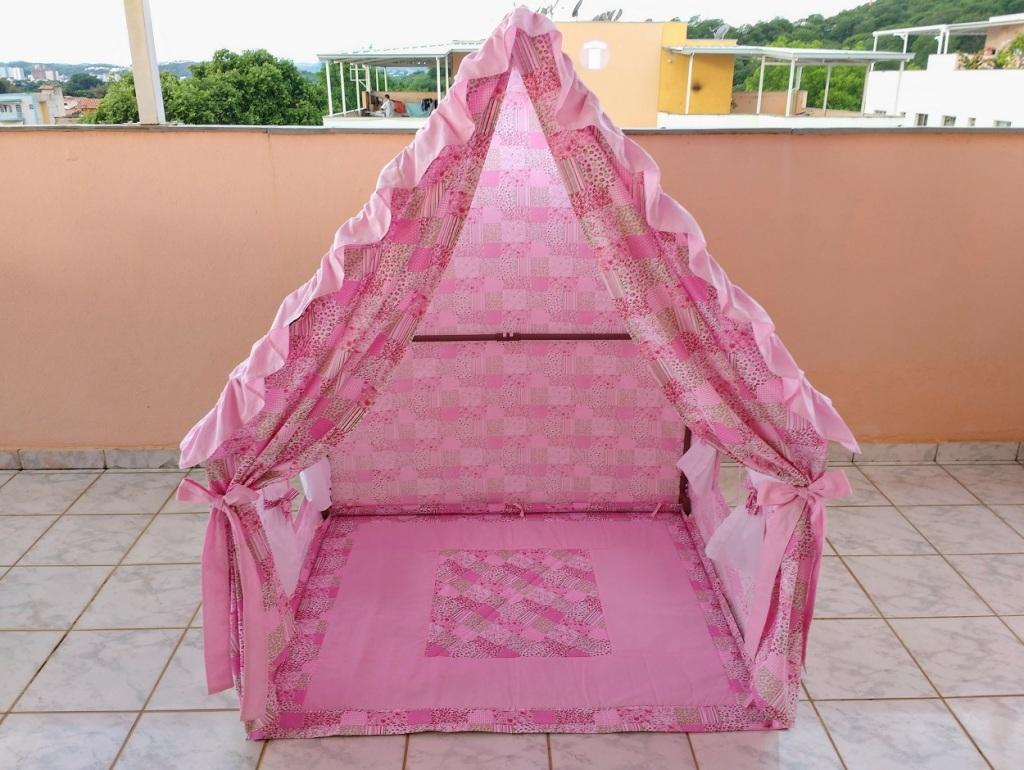Casinha Tenda - Casinha de Boneca